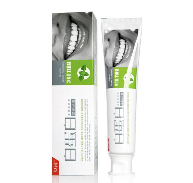 伯纳赫 白蛋白修护牙膏 118g