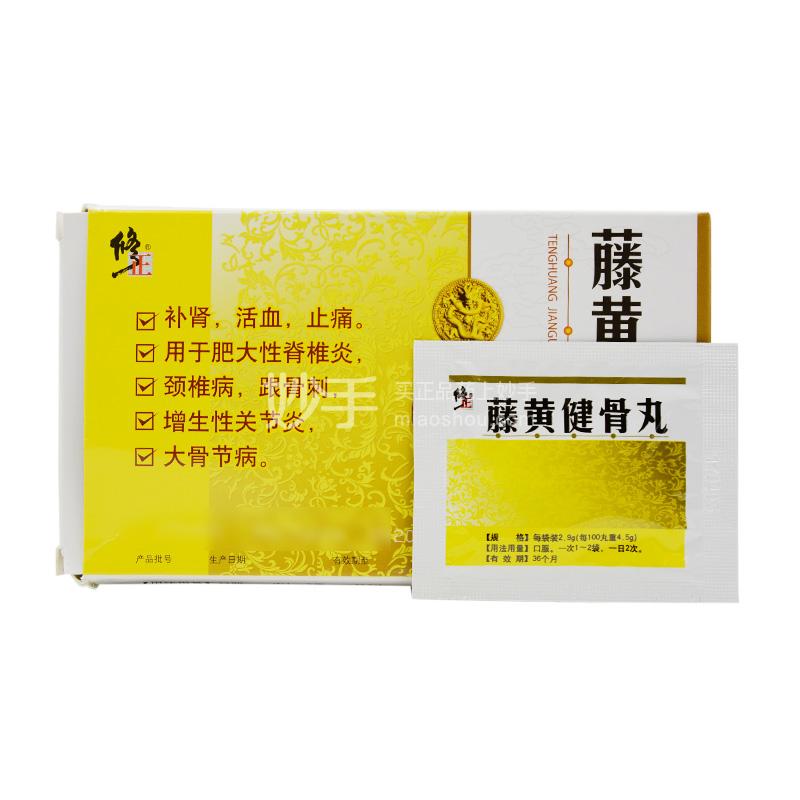修正 藤黄健骨丸 2.9g*10袋