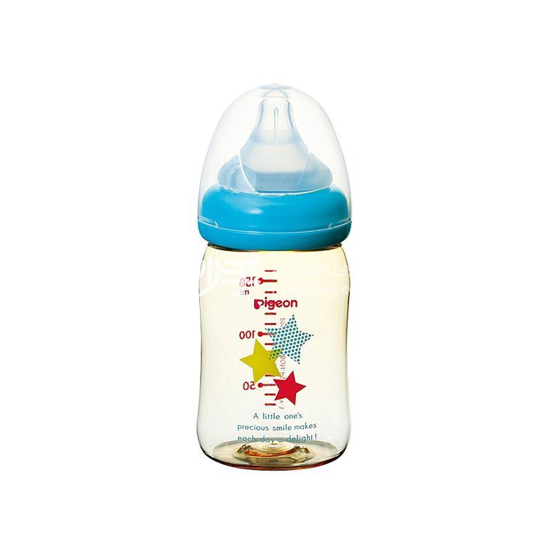 贝亲母乳实感PPSU奶瓶160毫升星星图案