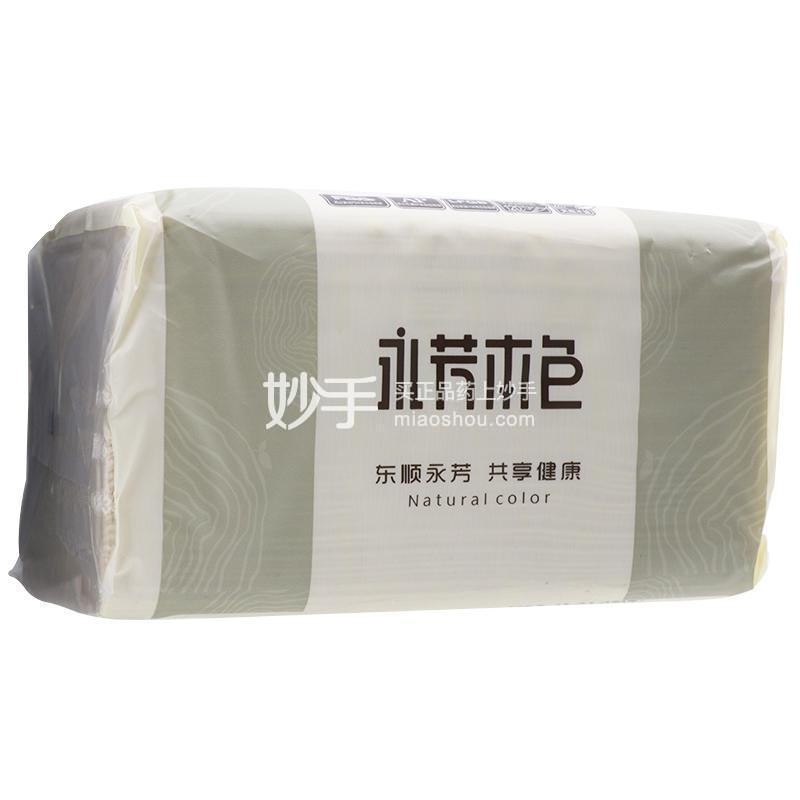 顺清柔 永芳本色抽取式面巾纸 190mm*135mm*(三层)*6包 120抽