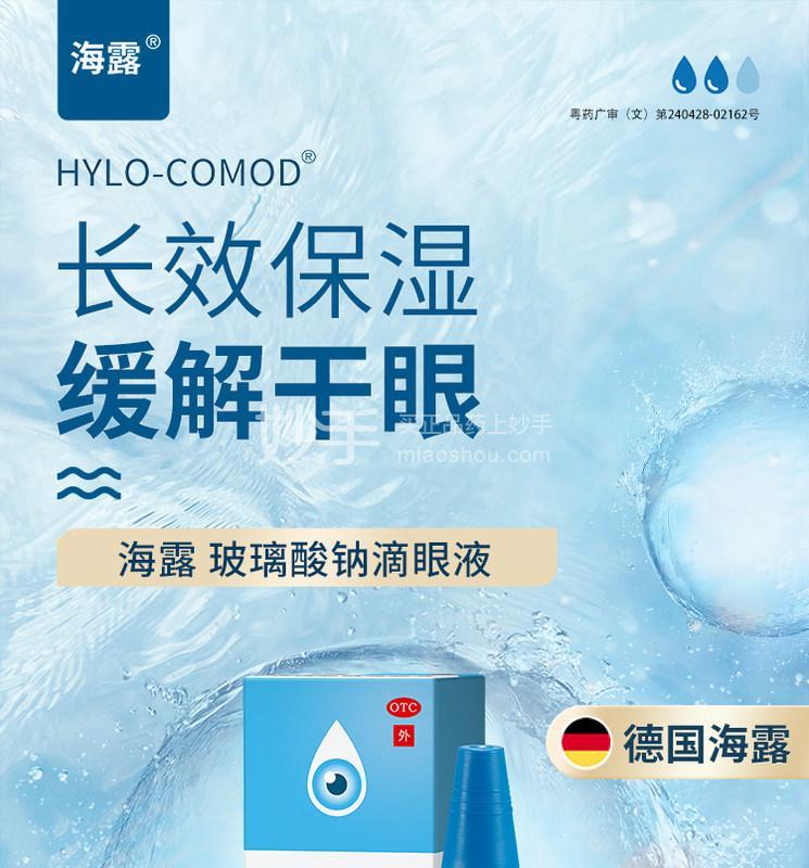海露 玻璃酸钠滴眼液 10ml(0.1%)