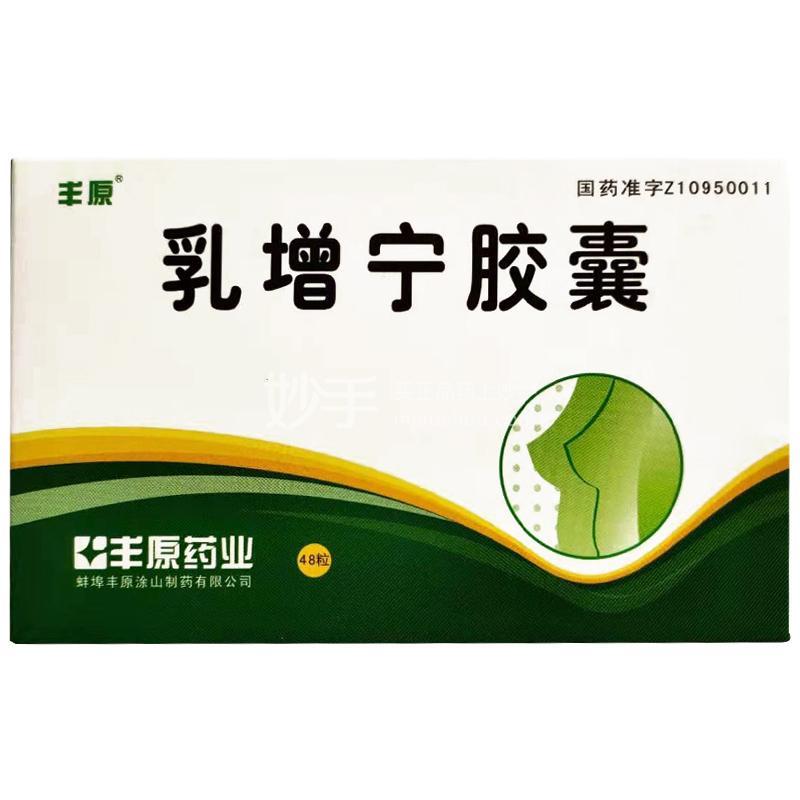 丰原 乳增宁胶囊 0.5g*48粒