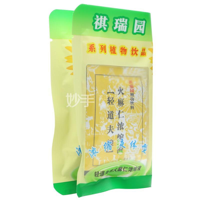 祺瑞园 轻道夫牌火麻仁浓缩液 60g(10克*6袋)